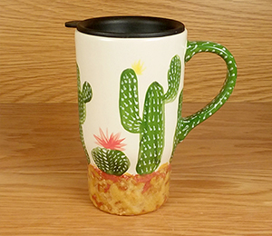 Chino Hills Cactus Travel Mug