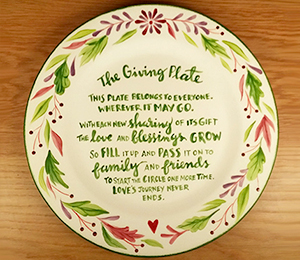 Chino Hills The Giving Plate