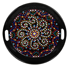 Chino Hills Mosaic Mandala Tray