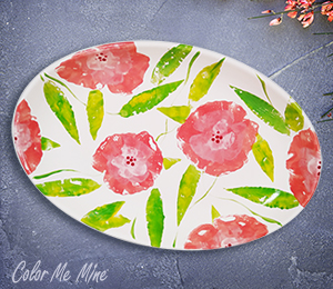 Chino Hills Floral Paper Stamping