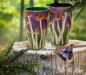 Chino Hills Mushroom Mugs